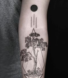 100 Breathtaking Geometric Tattoo Designs