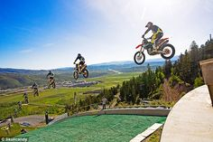 dirt bike jumps ski jump - Google Search