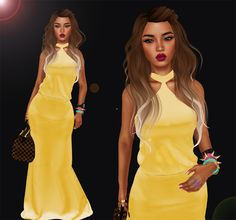 Skin: Ylang Ylang in 07 Tropez - The Body Co. Lips: Yri Lipstick in Series A - Dutch Touch Hair: Beyond The Waves in Rio - Exile . The Body Co, Bodycon Dress, Hair, Dresses, Fashion, Gowns, Moda, La Mode, Dress