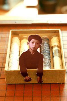 Box shrine. @Geraldine Dix