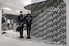 louis vuitton launches a special installation at dover street market ginza, and it's brimming with exclusive trophies. Market Displays, Shop Window Displays, Shop Front Design, Store Design, Visual Merchandising, Elephant Room, Window Display Design, Wall Design, Dover Street Market