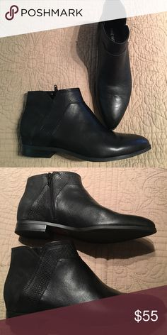 Nine west black booties Black nine west flat booties.new and stylish Nine West Shoes Ankle Boots & Booties