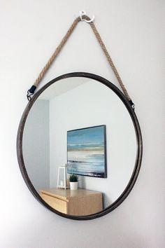 visual meringue: Guest Room mirror