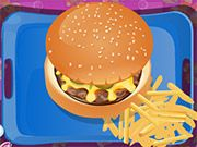 Free Online Girl Games, Fast Food Burger. What's not to love about an All American Burger & Fries?! Make the perfect combo to satisfy your customers! Play now! #freegames #dressup #girlgames #kidgames