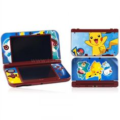 Skin New 3DS XL/ LL - Pokemon Pokemon P, New 3ds, Lunch Box, Sticker, Decals, Bento Box, Decal, Stickers