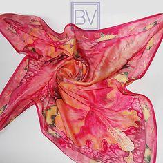 Магазин мастера Bella Vita Стильные штучки (bella-vita-spb) на Ярмарке Мастеров | Санкт-Петербург Hibiscus
