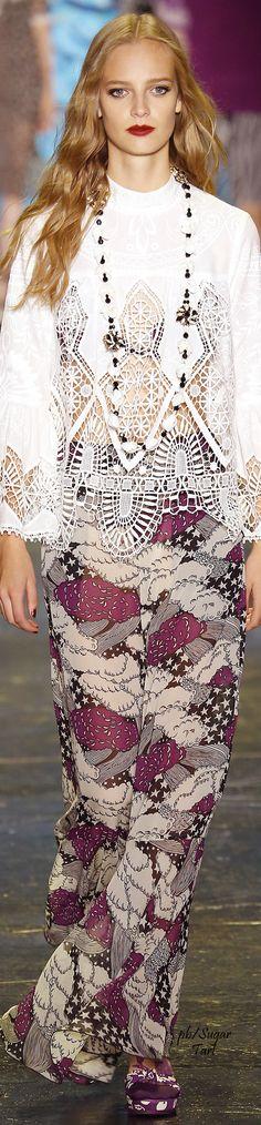 Anna Sui Spring 2016 RTW - necklace idea