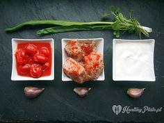 preparing tomato-yogurt turkey / carne de pavo con salsa de tomato y yogur