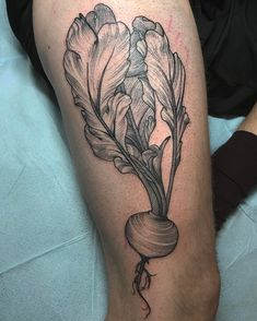A good vegetable tattoo just can't be beet done @eastrivertattoo