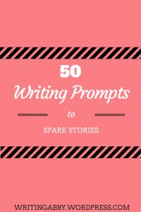 Sometimes, it's hard to find inspiration. Like, really hard. So, I wanted to give you guys a head start by compiling a list of different writing prompts. I've got fifty of them for ya'll. There are th
