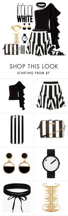 """""""Life In....."""" by freida-adams ❤ liked on Polyvore featuring Beaufille, Milly, Warehouse, Rosendahl, Boohoo, Joanna Laura Constantine, phonecase, blackandwhite and AtelierBriella"""