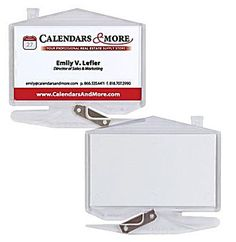 house business card zippy letter opener with staple remover calendars more real estate agent