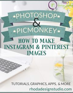 We all know how important it is to have a consistent feed for our business on Instagram and Pinterest. Figuring out how to make these images can be time consuming and frustrating.