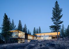 John Maniscalco Completes A New Home Surrounded By Nature Near Lake Tahoe In California