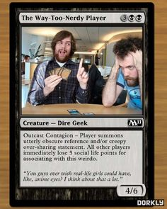 Fake and funny magic the gathering cards