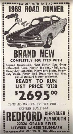 And to think I paid $3138.00 for my second RR  in 1969 !!!!!