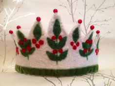 Snow Berry Waldorf Crown