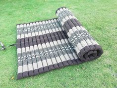 Camping Mattress Yoga Mat Cushion Organic Kapok 100% Filled by Tungyas on Etsy