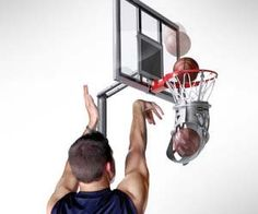 """Whether you're practicing in hopes of making it to the big leagues or happen to be one of those """"forever alone"""" types, the practice basketball returner solves all your basketball rebounding related problems. It easily attaches to any standard rim and stays securely locked in place while you practice shooting. Even though life didn't endow…"""