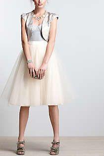 Want: tulle Skirt.