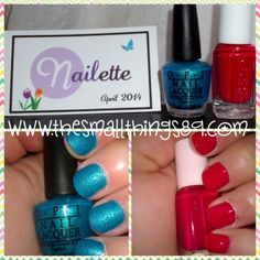 Who doesn't love nail polish? Check out my @Nailette   April 2014- Mini Nail Polish Subscription Review! One reader is going to win a subscription box too!