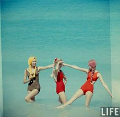 Beach Fashions, Havana 1958