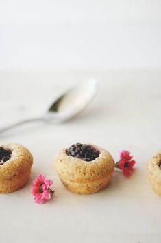 Blackberry & Vanilla Bean Financiers