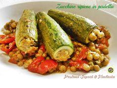 Zucchine ripiene in padella | Profumi Sapori & Fantasia