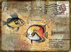 Artist Inspiration - Carol Leigh - Mail Art   Flickr - Photo Sharing!