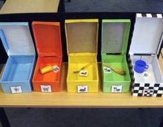 Very close to what we have used. Calendar Box for deafblind or object symbol user.