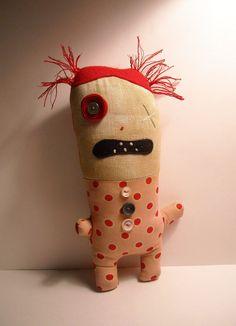 Junker Jane Art Dolls and Soft Sculptures: Newbies