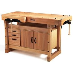 x 6 in. Workbench with Storage Cabinet Combo - The Home Depot - Sjobergs Elite 4 ft. x 6 in. Workbench with Storage Cabinet Combo Kit - Woodworking Jointer, Learn Woodworking, Woodworking Projects Diy, Wood Projects, Woodworking Plans, Custom Woodworking, Carpentry, Workbench With Storage, Folding Workbench