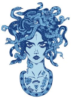 MEDUSA by PROZEET , via Behance