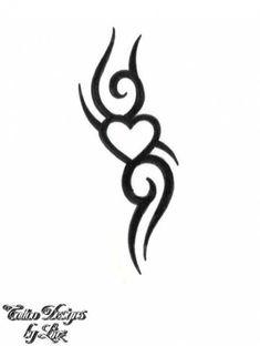 48 Ideas Tattoo Frauen Schulterblatt Herz For 2019 Tribal Tattoos For Women, Tribal Tattoo Designs, Tattoo Sleeve Designs, Sleeve Tattoos, Tattoos Tribal, Design Tattoos, Tribal Drawings, Tattoo Drawings, Mini Tattoos
