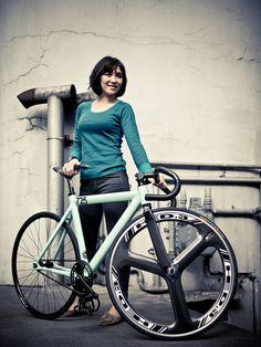 Taipei Rider #flickr #fixie #cycling