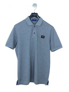 72b8814c2 Paul & Shark Classic Short Sleeve Polo in Grey - Northern Threads Short  Sleeves, Classic