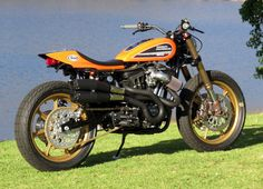 Mule Shows the Potential Hidden in the Sportster  The master works his magic and makes it look easy