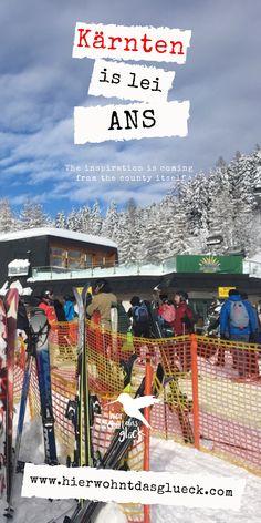 """Wir alle kennen das Gefühl, wenn es am Vorabend geschneit hat und wir vor lauter Freude am liebsten sofort auf den nächsten Berg fahren würden, um zu """"powdern"""".  Diese Verhältnisse findet man auf der Gerlitzen in Kärnten mit Blick auf den Ossiacher See. Mehr auf unserer Homepage :) #kärnten #gerlitzen #skifahren #snowboardfahren #urlaubinkärnten #urlaubinösterreich #winterwonderland #ausflügeinkärnten #ausflügeinösterreich #hierwohntdasglück #ossiachersee Berg, Times Square, Travel, Inspiration, Ski, Road Trip Destinations, Glee, Pictures, Biblical Inspiration"""