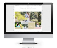April Lavers Photography - Custom Prophoto Blog Website Blogsite Design  www.pointofvuedesign.com