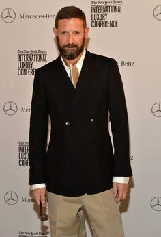 Stefano Pilati Leaves Ermenegildo Zegna Comedians, Style Guides, Movie Stars, Style Icons, Nice Dresses, Personal Style, Suit Jacket, Handsome, Menswear