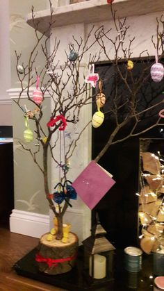 The kids Easter tree