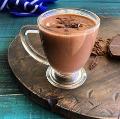 Receita de chocolate quente existe aos montes na internet, mas, igual a esse aqui, duvido! Ele fica extremamente cremoso e, ainda, levaum toque suave de