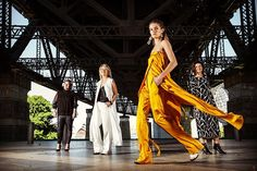 Manning Cartell designers Vanessa Cheryl and Gabrielle Manning and model @jena_hall @imgmodels Preview of Manning Cartell's Resort show space and collection that will be shown at Fashion Week next week. @sydneymorningherald @photossmh  @manningcartell @fashion_week @fashionweekaus #fashionweek #fashion #clothingbrand #milsonspoint #fashionphotography #fashionpost #fashiondesign #harbourbridge #sydneyharbourbridge #sydneyharbour #sydney #australia by louiedouvis http://ift.tt/1NRMbNv