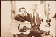 There are few things I enjoy more than listening to these guys. Simon Garfunkel, Paul Simon, Cute Boys, Singer, Guys, Amazing Places, Musicians, Rock, Cute Teenage Boys