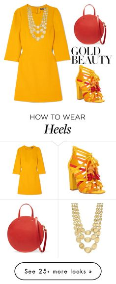 """""""Untitled #697"""" by tahmazovarzu on Polyvore featuring Dolce&Gabbana, Privileged, Clare V. and Marco Bicego"""