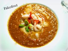 Paleolivet: Hulefamiliens nye tomatsuppe med rejer