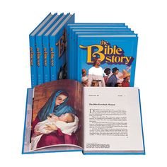 These are beautifully written Bible stories. I love reading them to the children.