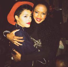 "weloveblackhumans: ""Ms. Lauryn Hill × Teyana Taylor """