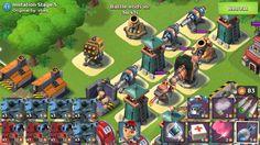 Boom Beach Imitation Game Stages 1 to 7 Hammerman event walkthrough