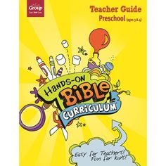 Hands-On Bible Curriculum Preschool Teacher Guide – Summer 2021